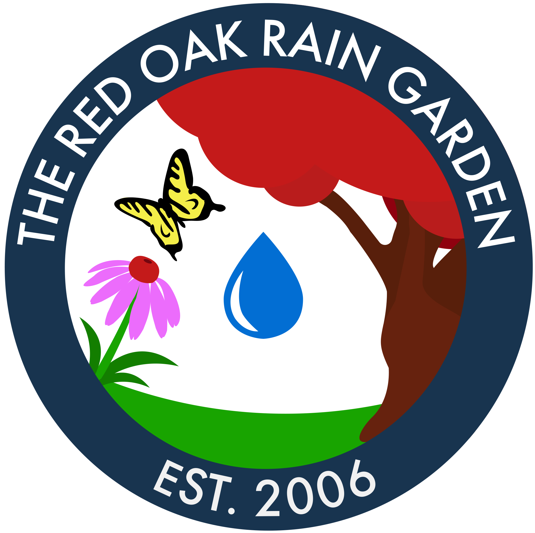The Red Oak Rain Garden